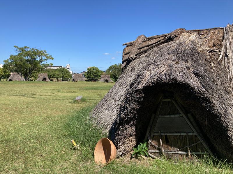 板付遺跡:竪穴式住居